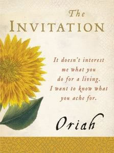 The Invitation, by Oriah